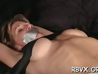 Chick is masturbating in front of the camera