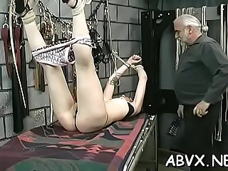 Fang enjoying magical bombshell is showing her body