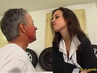 Erika italian face slapping