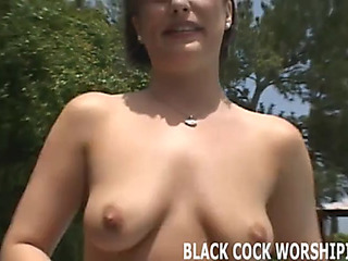 No Thing feels more excellent than a large dark dick in my white twat