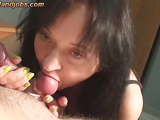 cum with you balls in my mouth