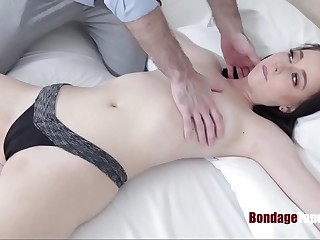 My Wife Present 18yo BDSM craving pussy for my BDAY Bambi Black