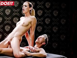 LETSDOEIT  Gorgeous Alexis Crystal Erotically Banged In Lutro'_s Bondage