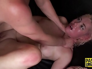 Pissing sub gets tied up