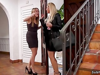Dude anal fucks girlfriend and her step mom