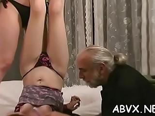 Classy maid getting rock hard fucked
