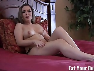 I will make sure you lick up all your jizz CEI